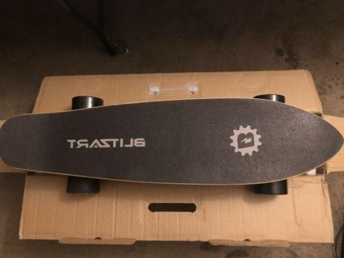 """BLITZART Tornado 28"""" Skateboard Electronic Longboard 17mph 350W"""