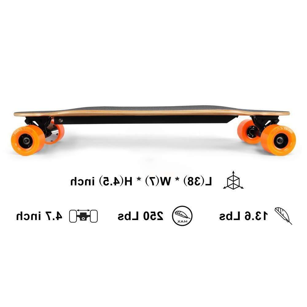 "BLITZART Tornado 38"" Skateboard"