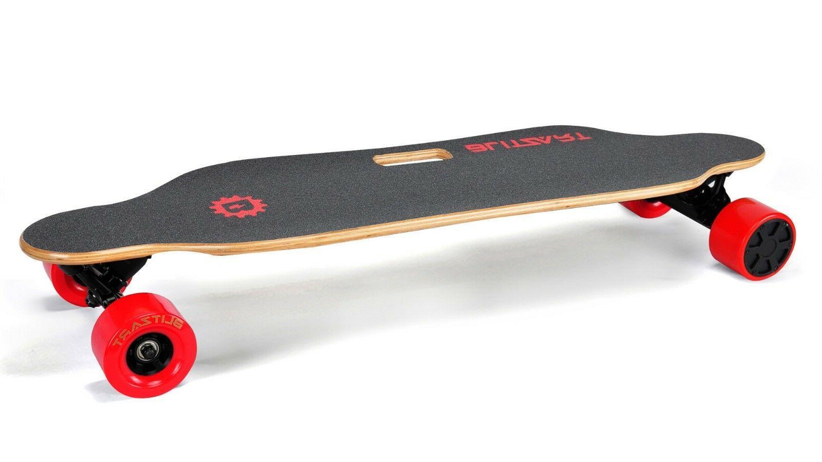 """BLITZART Electric Skateboard Longboard 3.5"""" 350W 17mph"""