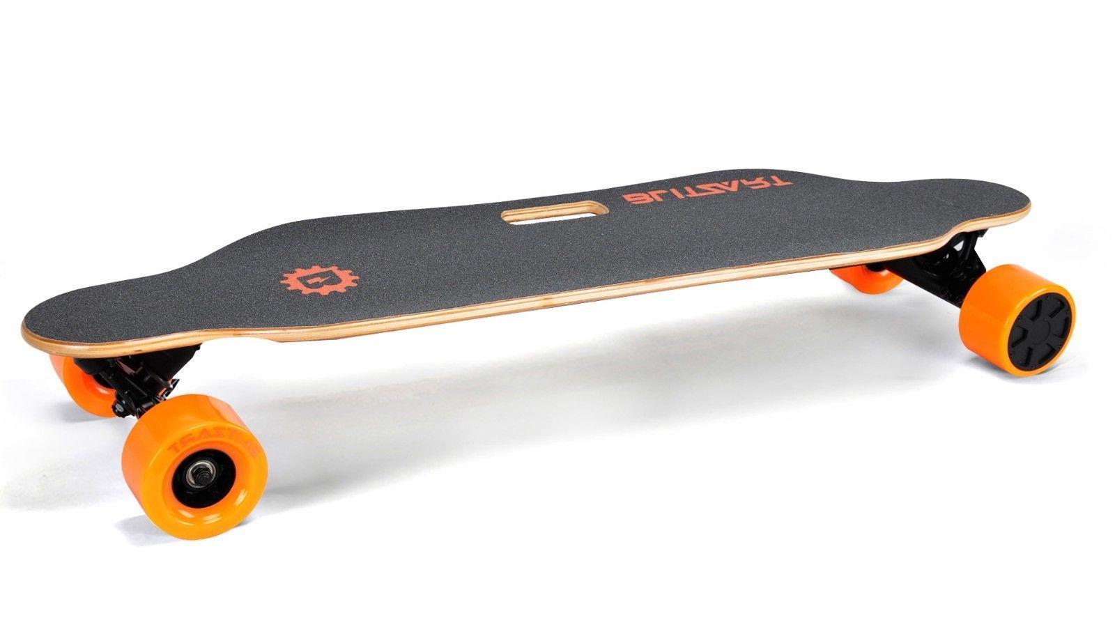 """BLITZART 38"""" Skateboard Hub-Motor 350W 17mph"""