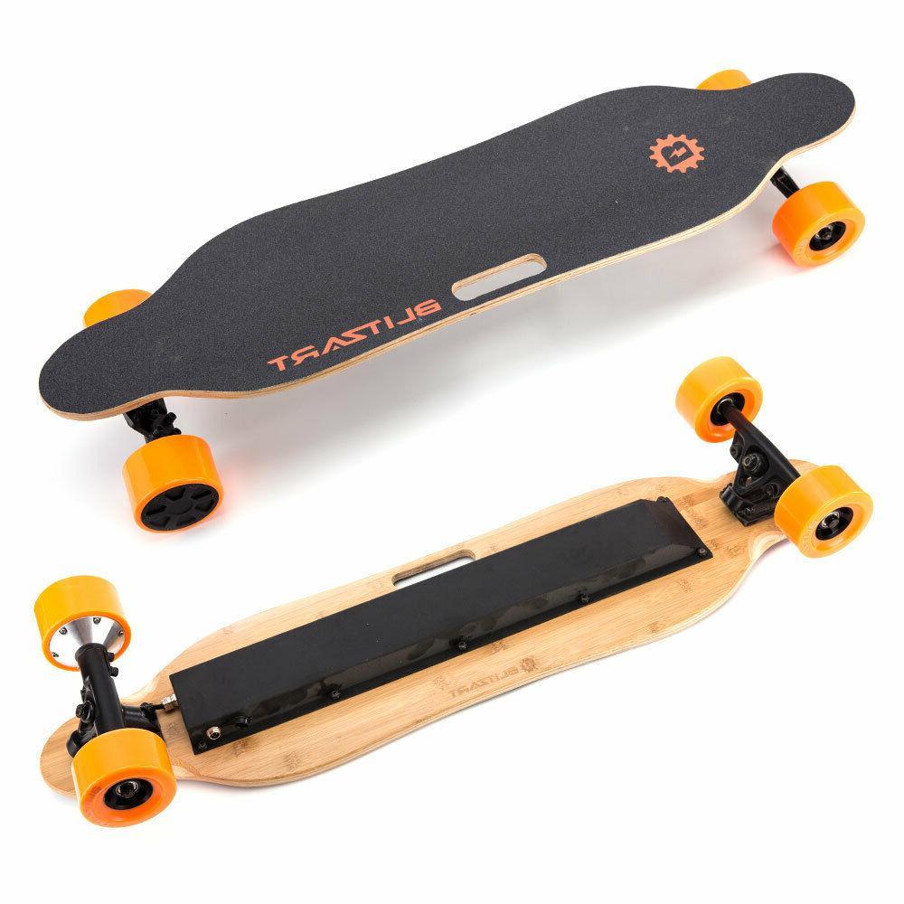"""BLITZART 38"""" Skateboard Longboard 350W 17mph"""