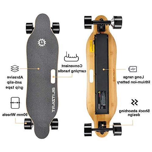 "BLITZART 38"" Longboard E-Skateboard 17mph"