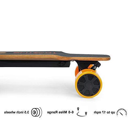 BLITZART Electric Skateobard Longboard E-Skateboard
