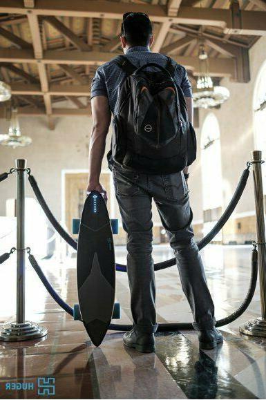 Huger Tech Skateboard bluetooth GPS Speed 20 MPH Range 22Mi