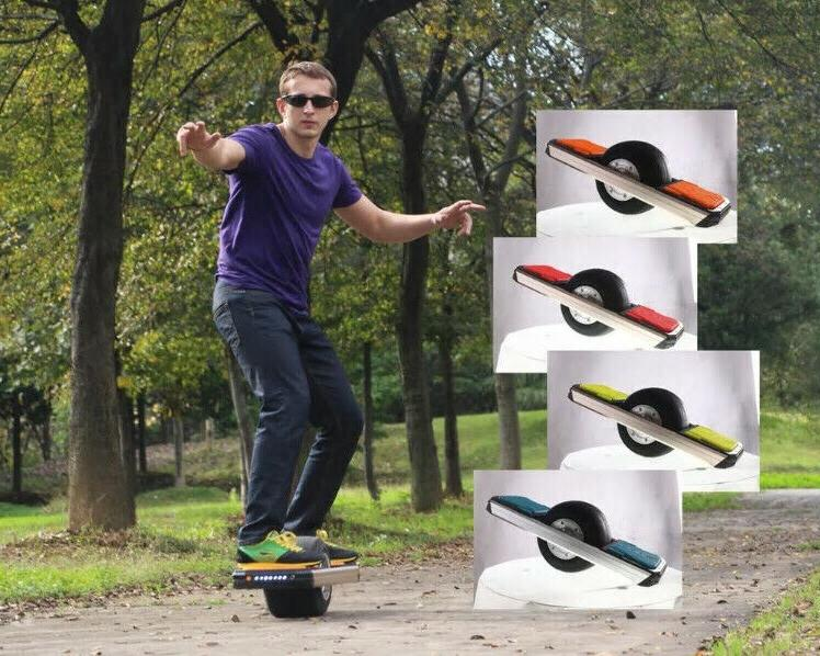 Trotter Wheel OneWheel Offroad Electric Scooter Fun