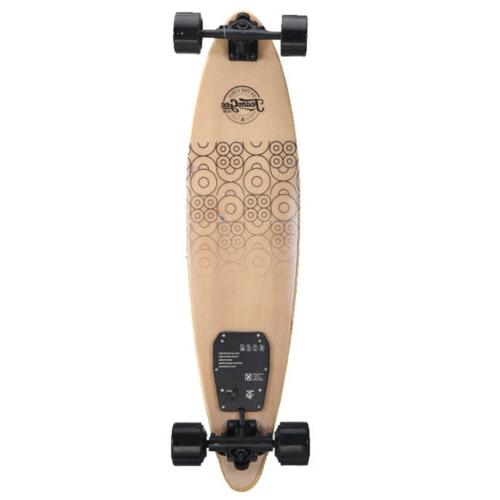 Ultra-thin Electric Longboard Remote Control Dual Wireless Gift