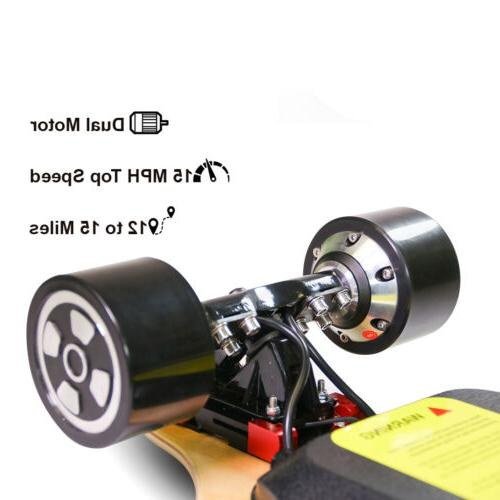 Upgraded Electric Skateboard Charger Top Speed LED