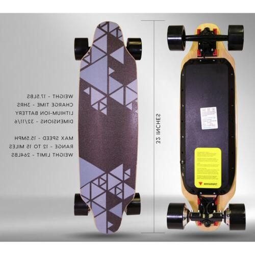 """Upgraded 32"""" 2 Electric Skateboard Top"""