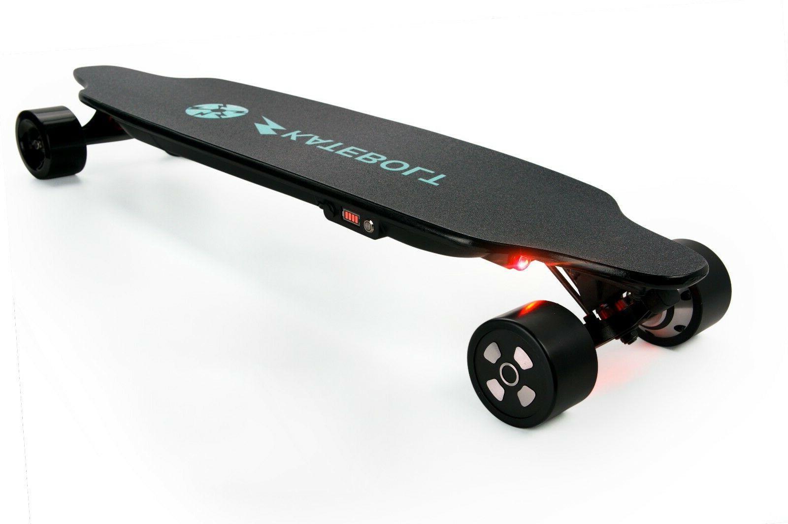 used electric skateboard 25 mph dual motors