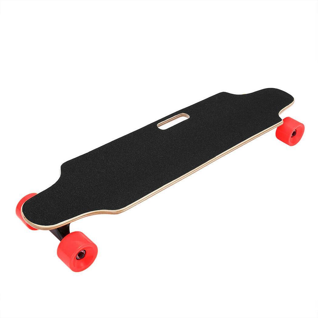 Wireless 20km/h Skateboard 4 Remote Control USB Charge