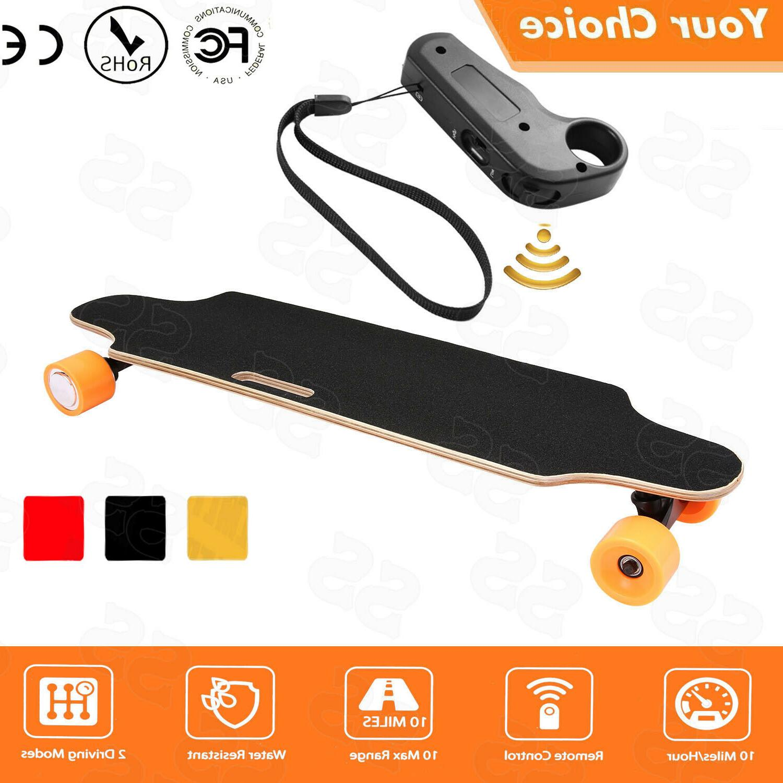 ANCHEER Hub Electric Skateboard Longboard Maple