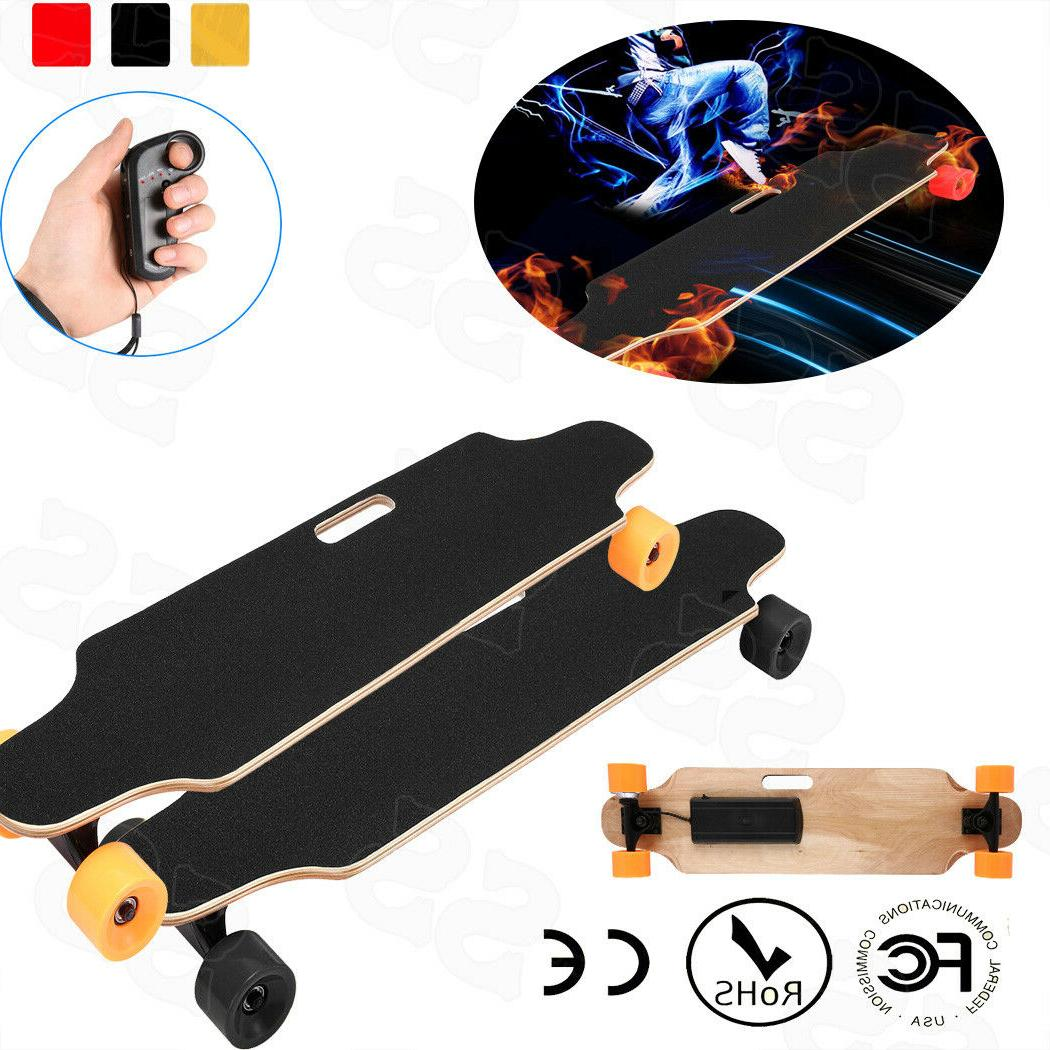 Electric Skateboard Longboard with Remote Controller Max Loa