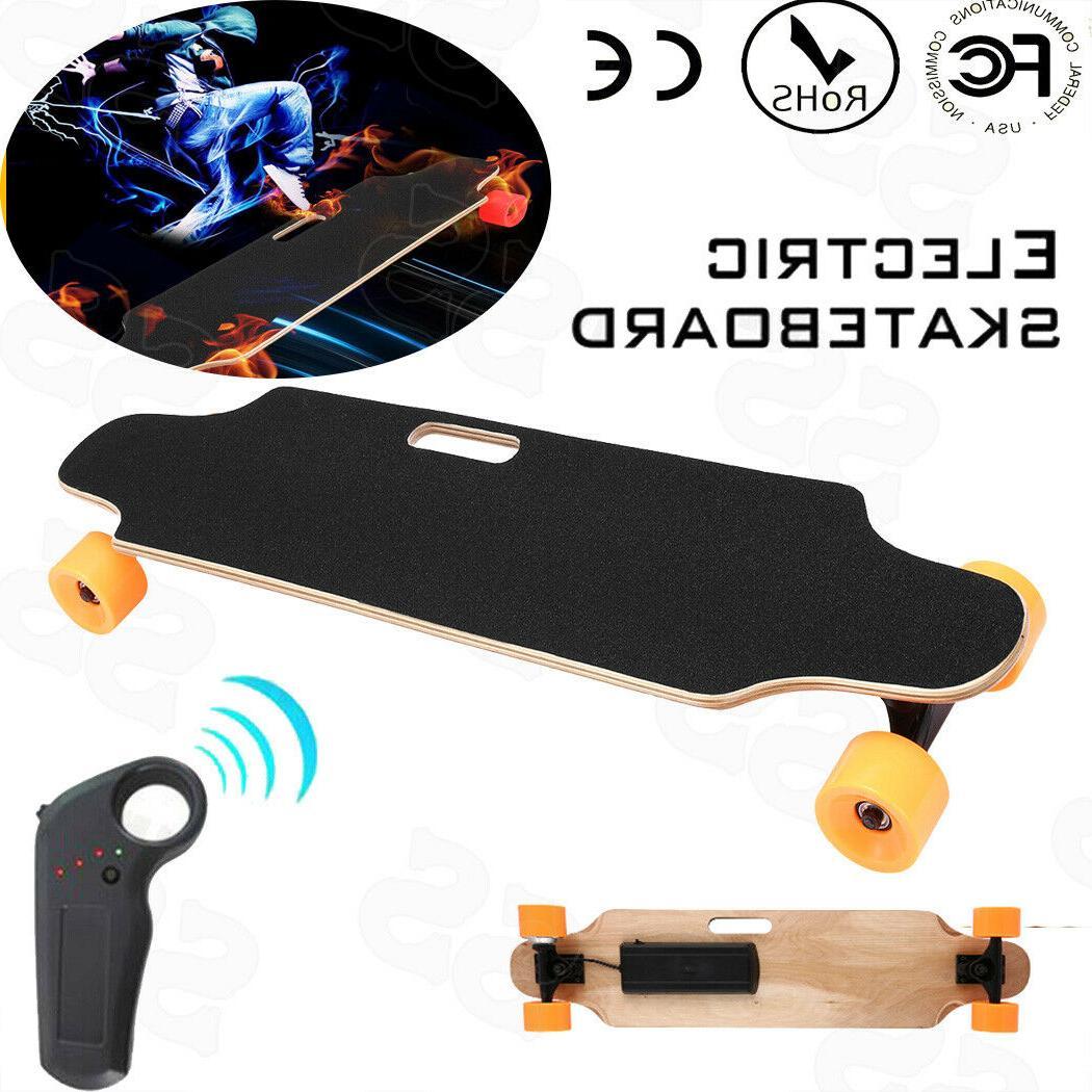 wireless remote control hub motor electric skateboard