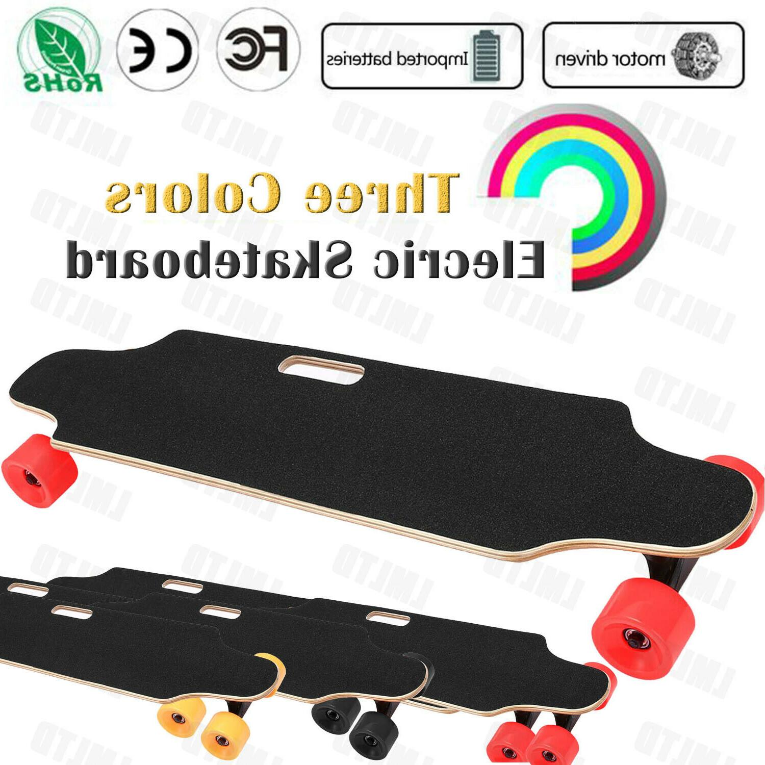 """35.4"""" Electric Skateboard Remote Control Adults Teens Youths"""