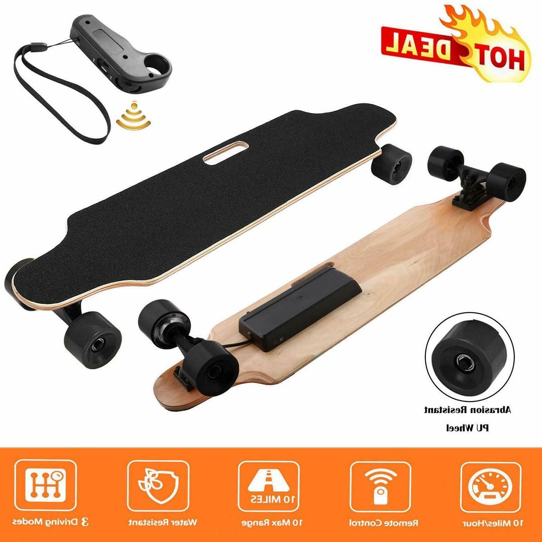 Electric Skateboard 20KM/H Dual Motors Motorized Long Board