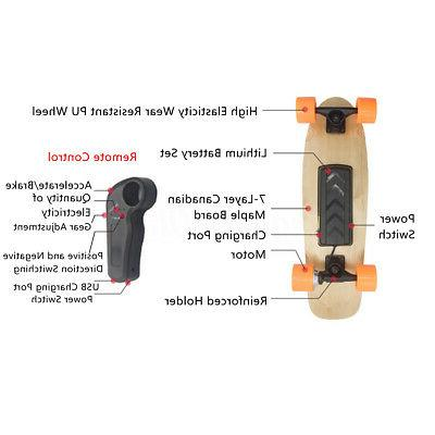 Wireless Motor Electric Skateboard Board