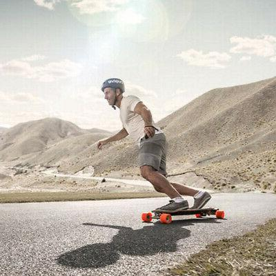 Wireless Remote Control Motor Electric Longboard Skate Board 250W