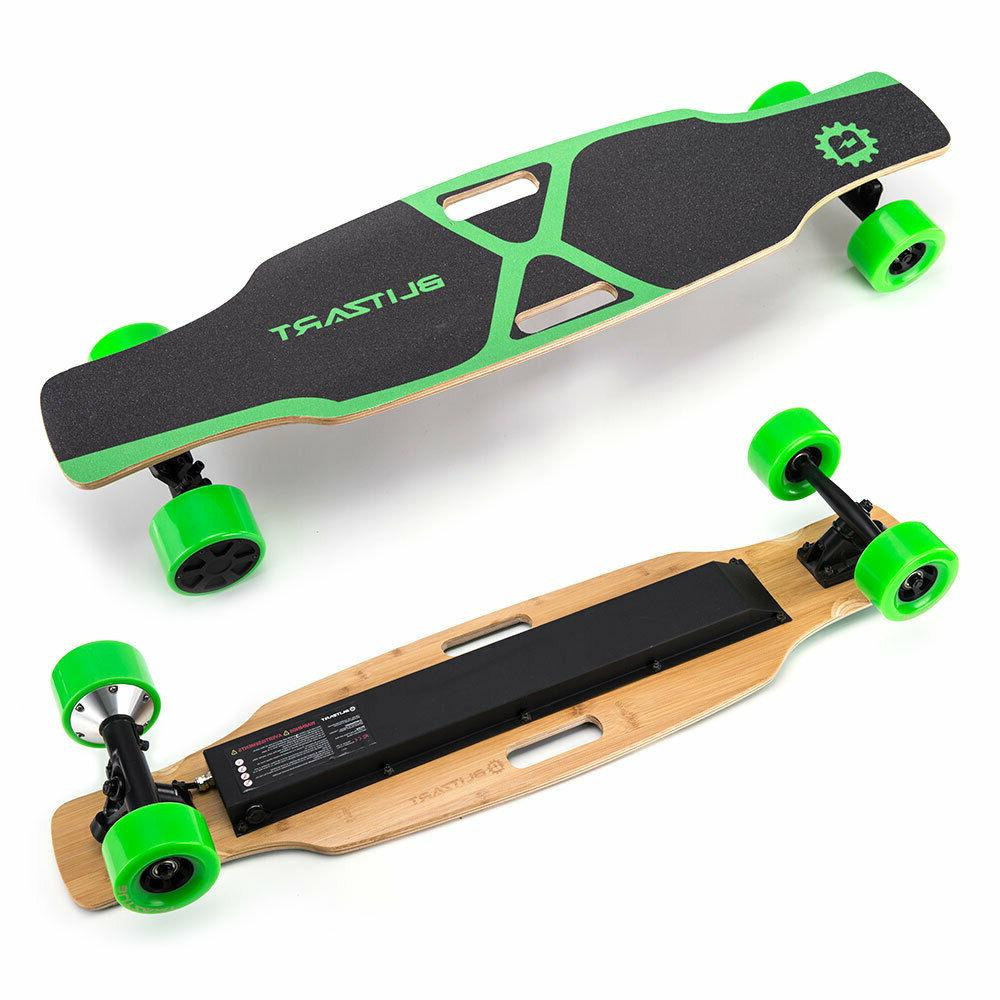 BLITZART X-Plore Skateboard Longboard Model 18mph