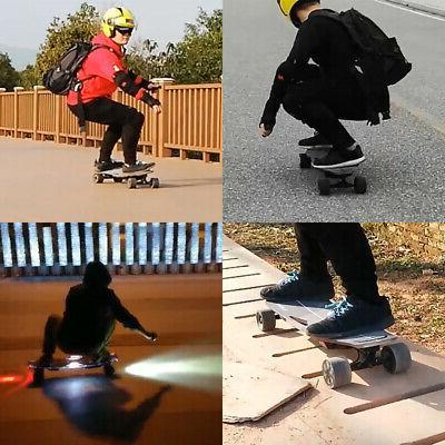 X6 300W Motor Electric Skateboard Top Light