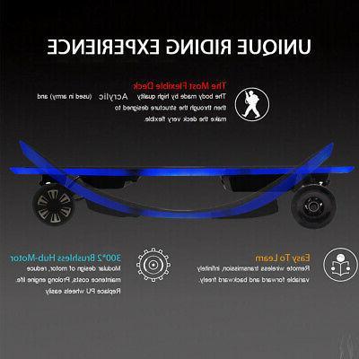 X6 2 Electric Skateboard Charger Longboard