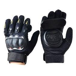 Standard Longboard Downhill Slide Gloves Skate Gloves with S