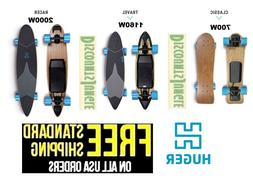 Huger Tech Longboard Waterproof Bluetooth Electric Skateboar