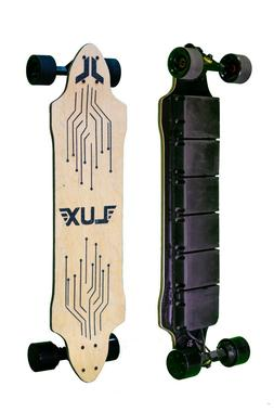 Lux Longboards CS Electric Skateboard with Flexible Battery