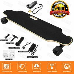 Maple Deck Electric Skateboard Longboard Crusier with Remote