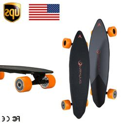 Max Find Four Wheels Wireless Electric Skateboard with Bluet