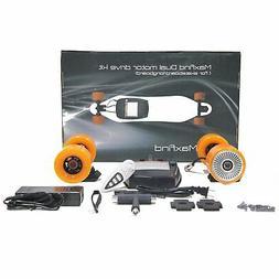 max kit electric longboard 4 wheels skateboards