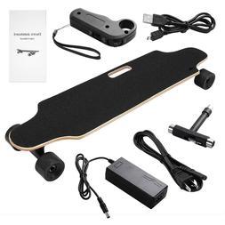 motorized skateboard electric fish board maple longboard