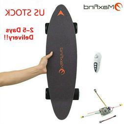 new 27 inch electric skateboard with wireless