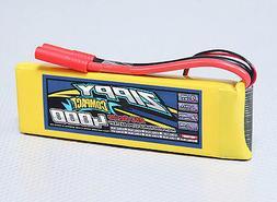 New Zippy Compact 4000mAh 2S 7.4V 25C 35C Lipo Battery Pack