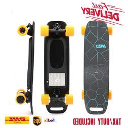 New E-Skateboard Complete Dual Motor 350W 36V Battery Chargi