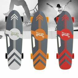 New Electric Skateboard Motor Cruiser Maple Longboard w/ Rem