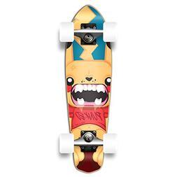 Yocaher Pika Punked Complete Skateboards Longboard Micro Cru