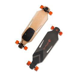portable 38 electric skateboard single motor maple