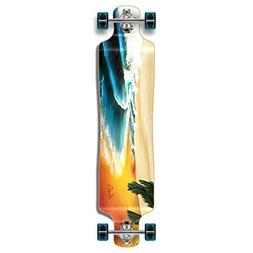 Yocaher Punked Lowrider Drop down through Longboard Complete