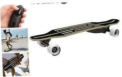 RazorX Electric Skateboard Black Longboard Standard Packagin