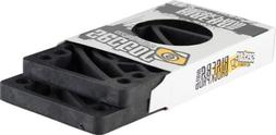 Sector 9 Regular Risers , Black, 1/2-Inch