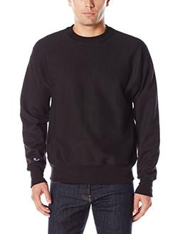 Champion LIFE Men's Reverse Weave Sweatshirt, Black, M