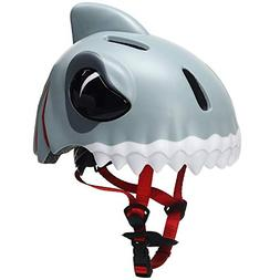 Bavilk Kids Shark Bike Helmet Multi-Sport Helmet for Cycling