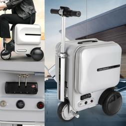 Airwheel Silver PC Li-ion Electric Skateboard Suitcase/29.3L