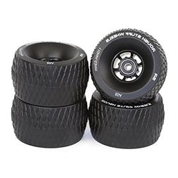 Slick Revolution Skate Wheels: 85A 110mm Rough Terrain Longb
