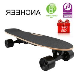 "Ancheer Skateboard 31"" x 8"" Complete PRO Skateboard, 9 Layer"