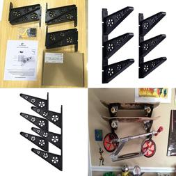 Maxfind Skateboard Wall Rack Storage Hanger Mount For & Long