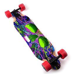 "MightySkins Skin for Blitzart Tornado 38"" Electric Skateboar"