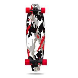 MightySkins Skin for Inboard M1 Electric Skateboard - Red Ca