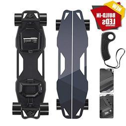 Smart LED Lights Electric Skateboard & Longboard, 900W Super