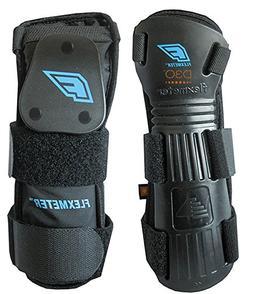 Demon Snow Flexmeter Wrist Guard - Double Black, L